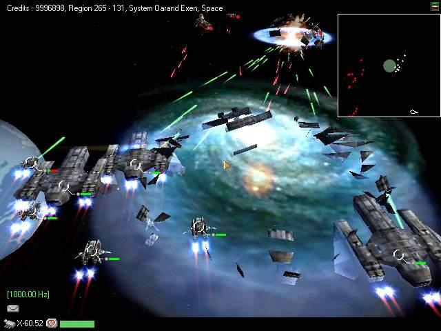 Combat spatial