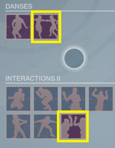 Interactions du parrainage