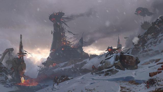 Destiny : Les Seigneurs de Fer - Concept Art