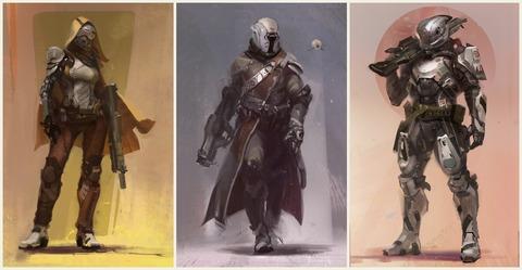 Classes de personnage de Destiny