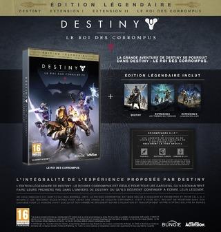 Destiny: Le Roi des Corrompus - Edition Legendaire