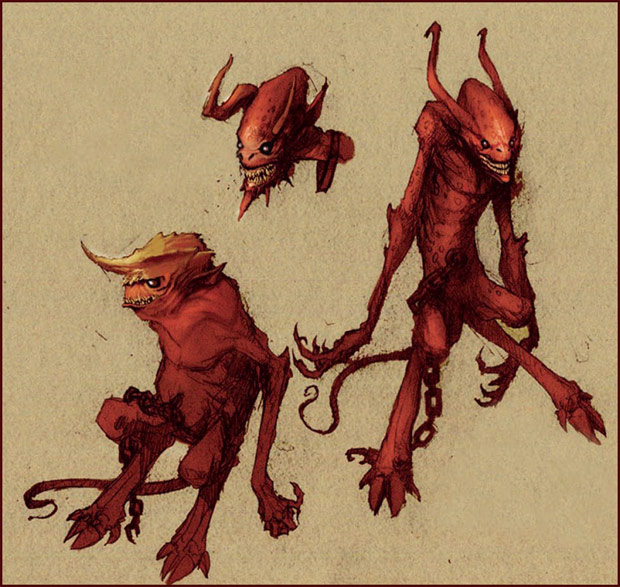 Croquis de Devils