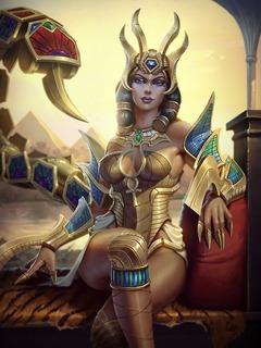 Serqet et son skin Desert Queen