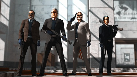 Overkill Software - Overkill et Valve pour un cross-over entre PayDay et Left 4 Dead