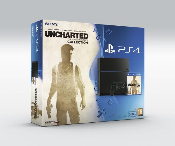 Bundle PS4 Uncharted