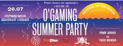 O'Gaming Summer Party le 26/07/2013