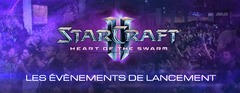Evènements de lancement de Heart of the Swarm
