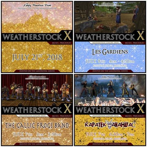 Weatherstock 2018