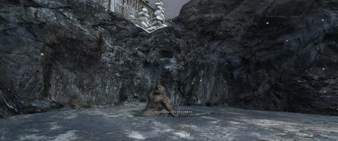 Le Troll des Cavernes à la sortie de la Cour de Thorin