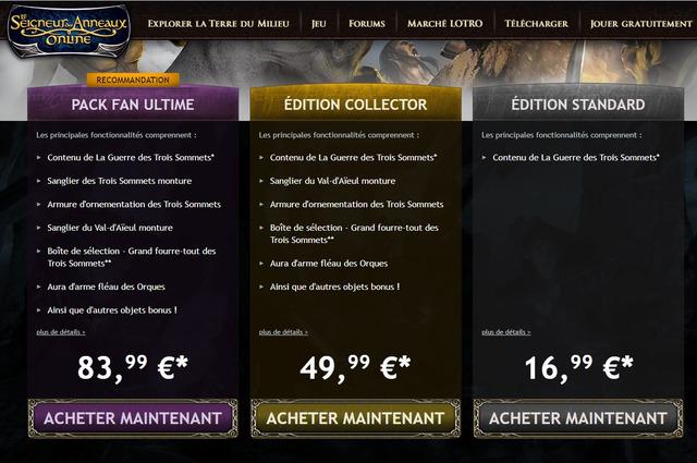 editions Guerre des Trois Sommets