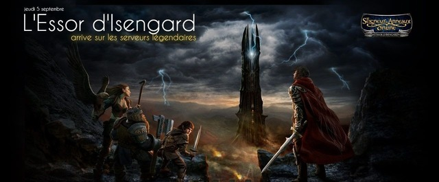 Essor d'Isengard - serveurs légendaires