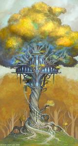 Concept art Lothlorien