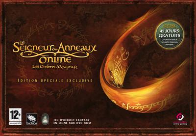 Boîte de l'édition collector du Seigneur des Anneaux Online