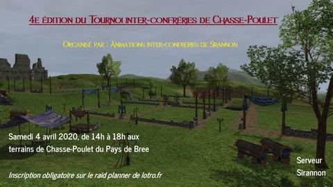 4ème Tournoi Inter-Confréries de Chasse-Poulet