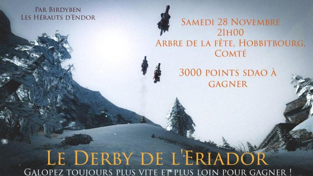 Derby de l'Eriador 28 novembre 2020