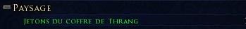 Jetons des coffres de Thrang