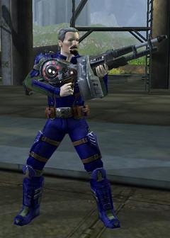 Nouvelle mitrailleuse de l'AFS