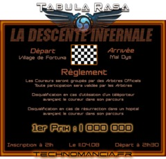 La Descente Infernale : le nouvel event du clan Technomancia le 11/04