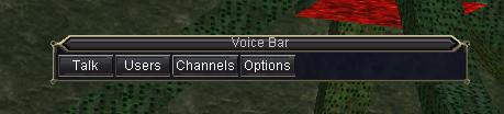 Meet your new best friend... voice bar, meet the players!