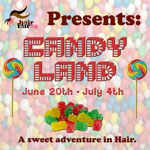 Hair Fair 2009 Candyland
