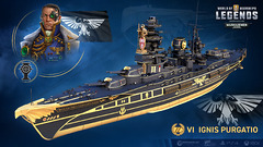 Warhammer 40K à l'assaut de World of Warships et World of Warships: Legends