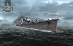 Premières images de World of Warships