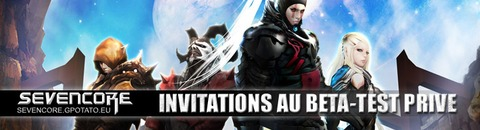 Invitation au bêta-test de SevenCore