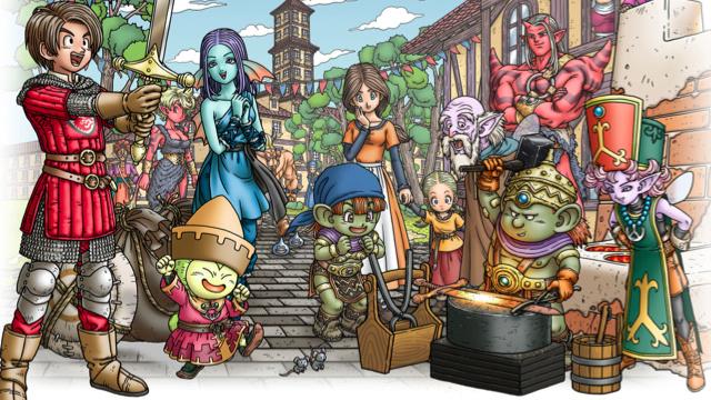 Image de Dragon Quest X Online
