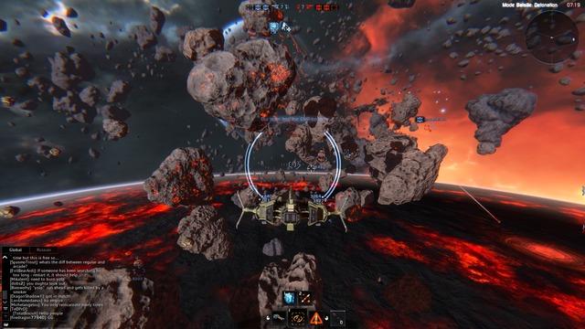 Capture de Star Conflict en plein jeu