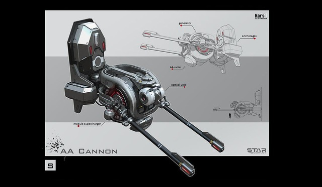 Artworks - AA Cannonstar conflict