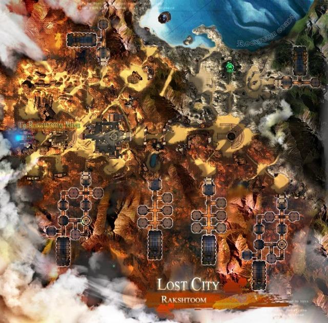 La cité perdue de Rakshtoom