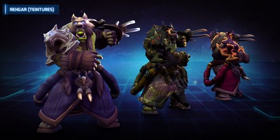 Coulisses de la conception: Rehgar
