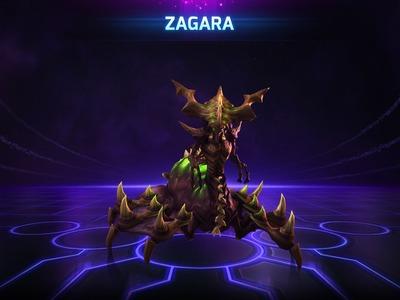 Zagara, reine des couvées de l'essaim