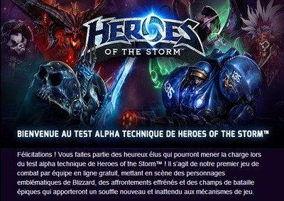 Première vague d'invitations à l'alpha technique