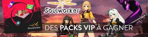 20 packs VIP SoulWorker à gagner