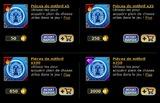 tarifs actuels au 14 mai 2013 pour les pièces de mithril
