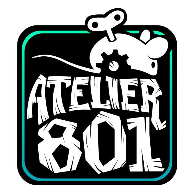 Nouveau logo Atelier 801