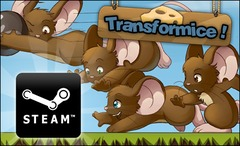 Les souris de Transformice s'installent sur Steam