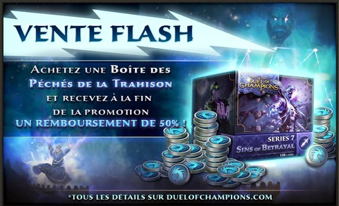 Duel of Champions - Une promo en boutique ce week-end