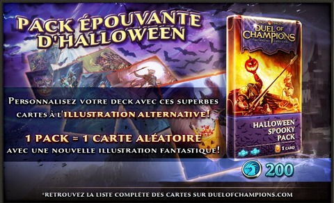 Duel of Champions - Des artworks pour Halloween