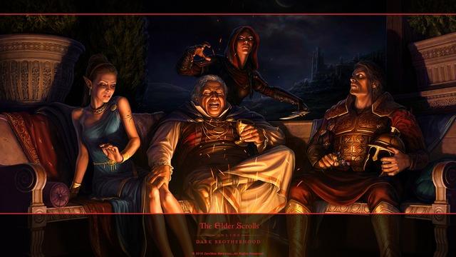 Illustration de Dark Brotherhood par Lucas Slominski