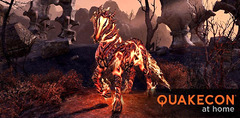 Planning TESO de la QuakeCon at home et un familier gratuit