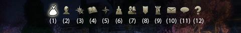 Le menu principal du jeu