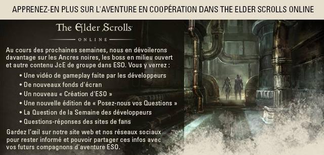 Programme : le PvE de groupe d'Elder Scrolls Online