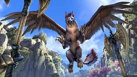 ESO SummersetSpotlight Gryphon