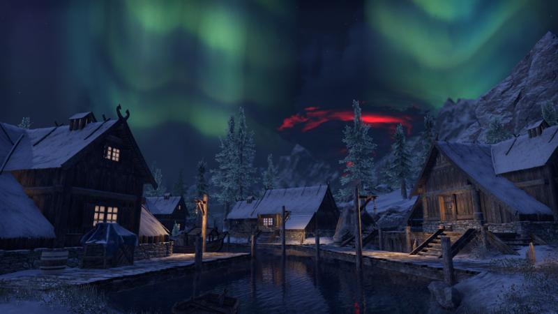 ESO Graymoors: Mortal, vue de nuit