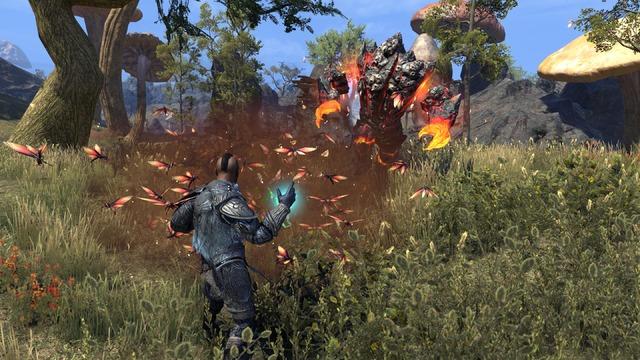 TESO Morrowind Warden Swarm Spell