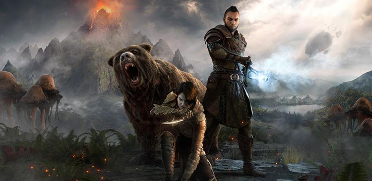 TESO : Morrowind - Fond d'écran