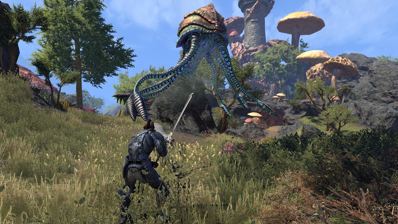 TESO Morrowind Netch Combat