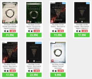 Promo TESO : -20% sur TESO: Summerset, -40% sur TESO: Morrowind